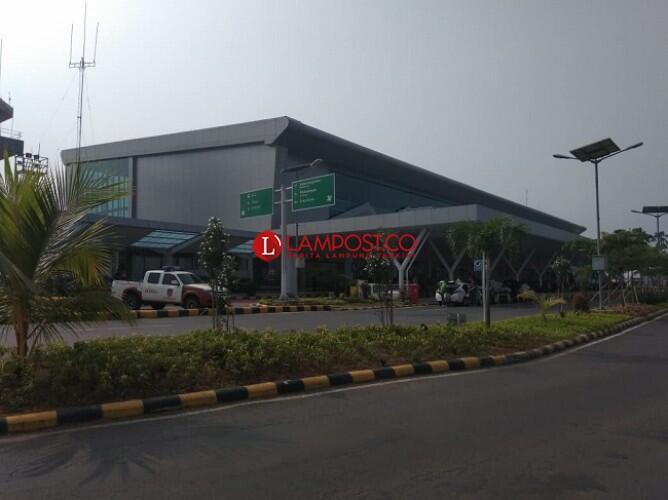 H-7 Lebaran, Belum Ada Lonjakan Penumpang di Bandara Radin Inten II