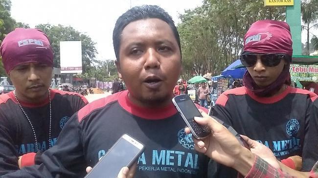 Panglima Garda Metal SPMI Batam Jadi Korban PT Hantong yang Kabur