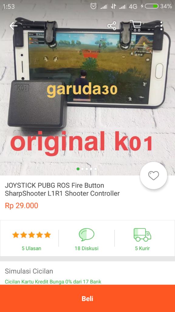 Joystick PUBG