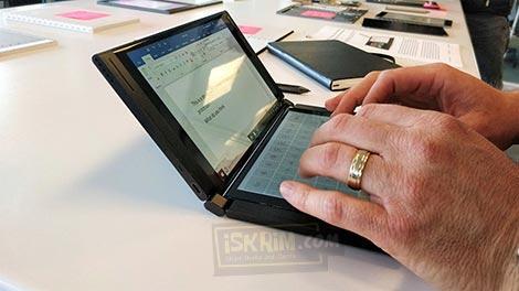 Gebrakan Baru, Intel Buat PC Ber Layar Lipat Mirip Notebook