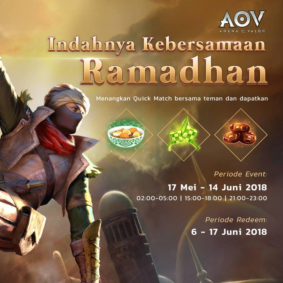 Tips & Trick build Tel' Annas special skin ramadhan, satu-satunya hijabers di AoV