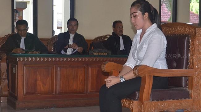 Istri Cantik Mantan Wakil Ketua DPRD Bali divonis 12 Tahun Penjara