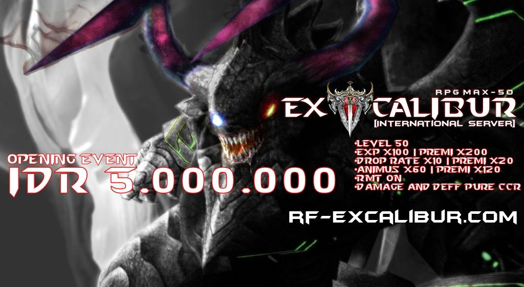 ★RF EXCALIBUR RPG 50★ RMT ON