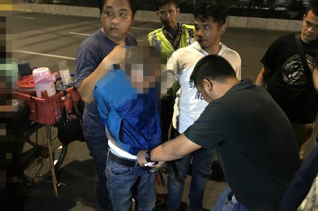 Bawa Sabu saat SOTR, Sepasang Pria Dibekuk Polisi di Taman Sari