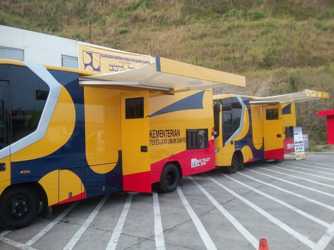 Ada 26 Unit Mobil Toilet di Tol Trans Jawa, Bikin Mudik Makin Asyik