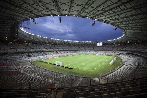 Jala Stadion Saat Brasil Dibantai Jerman di Final PD 2014 Dilelang