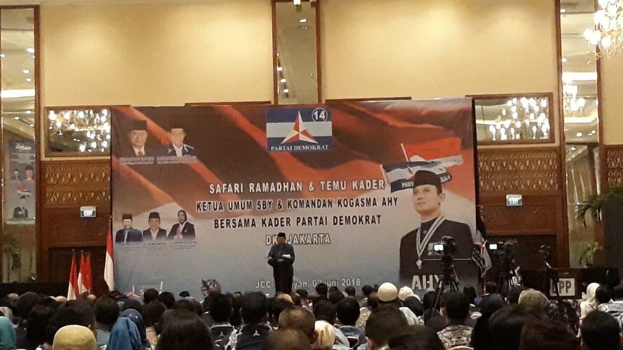 Temu Kader Demokrat, Ini Pesan SBY