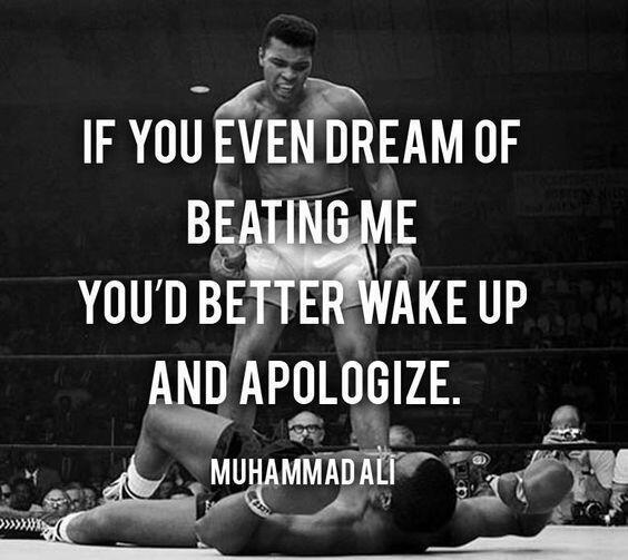 Donald Trump Ingin Ampuni Muhammad Ali yang Sudah Divonis Bebas