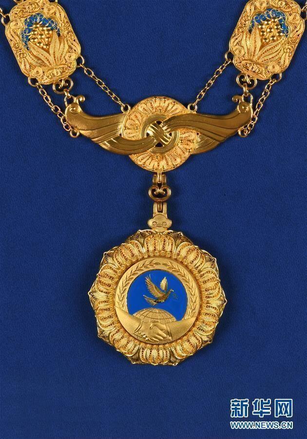 Presiden Putin Dianugerahi Medali Persahabatan dari PM Xi Jinping
