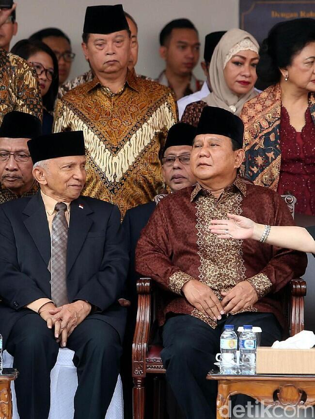 Gerindra Pertimbangkan Amien Rais Dampingi Prabowo