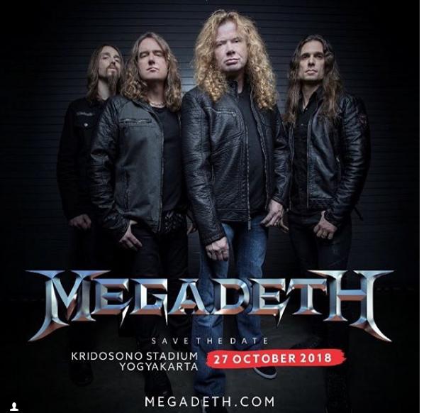 """JogjaROCKarta 2018 Kembali Digelar. Menghadirkan Band """"Megadeth"""""""