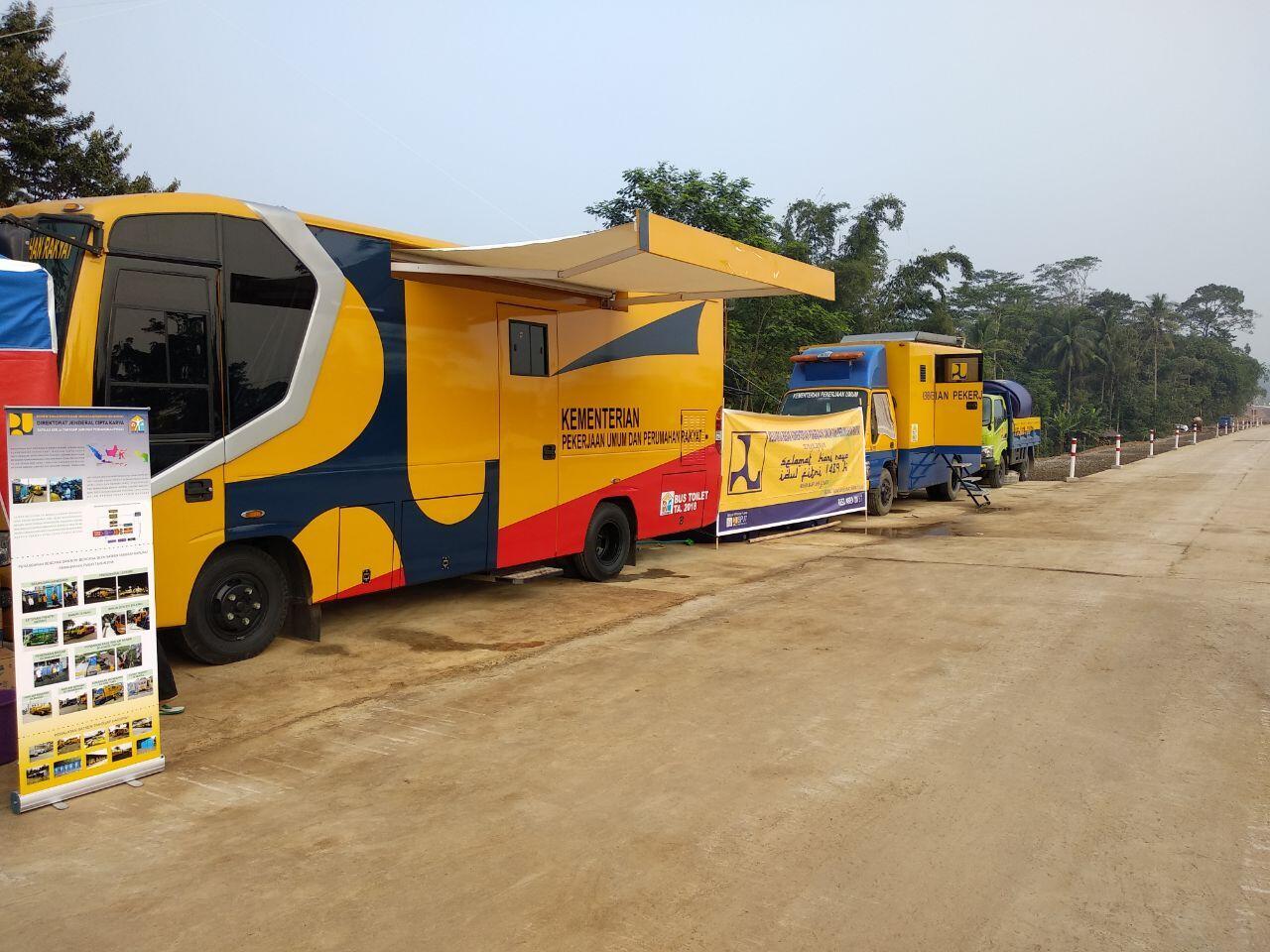 Kementerian PUPR Siagakan 26 Unit Mobil Toilet di Tol Trans Jawa