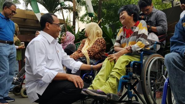 Menhub Budi Apresiasi Penyelenggaraan Mudik Ramah Anak dan Disabilitas