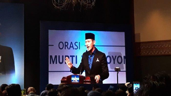 Orasi Kebangsaan, AHY Sindir Revolusi Mental Jokowi