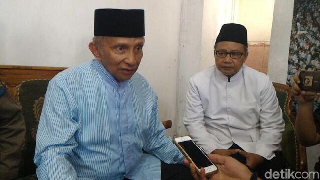 'Tolak Halus' Amien Rais, PKS Tetap Sorongkan Aher dkk