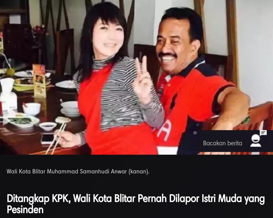 Politikus PDIP yg Ditngkp KPK Prnh Pidato Lwan Org Brjenggot.Prnah Dilprkn istri muda