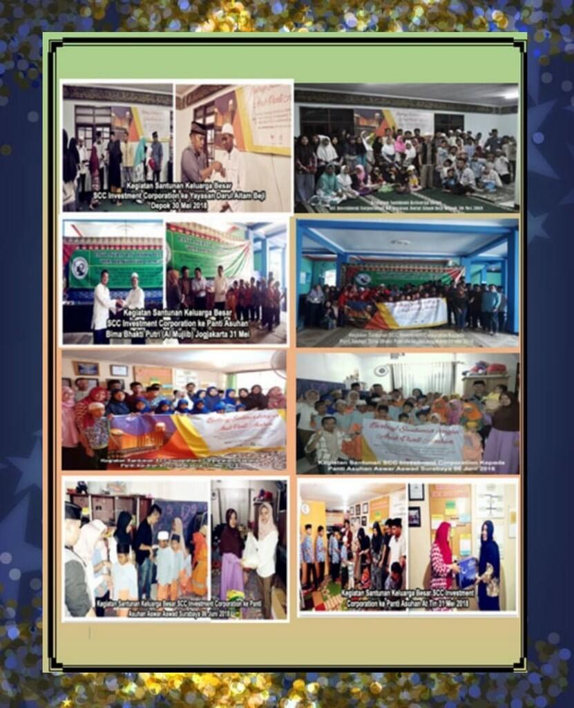 Santuni 285 Yatim Piatu , SCC Tunaikan Misi Sosial Ramadhan 2018