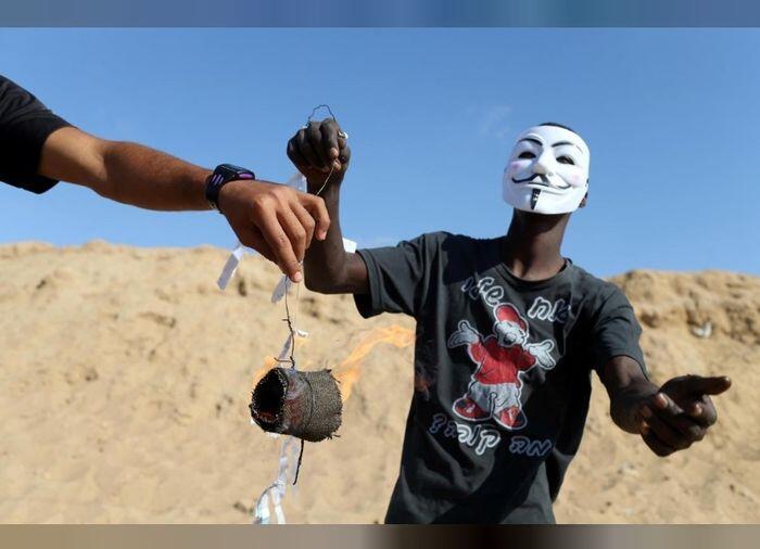 Layang-layang Buatan Palestina Ini Bikin Israel Kelimpungan
