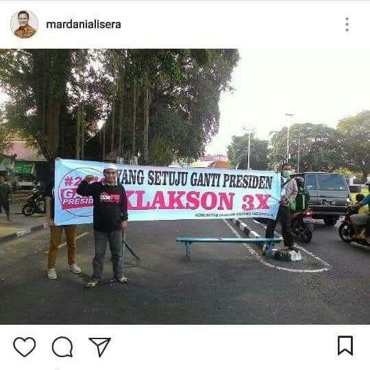 Jalan Tol Pak Jokowi Vs Klakson 3 Kali