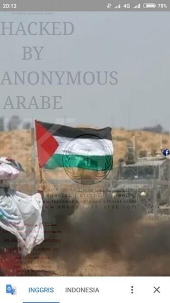 Website Dirjen Pajak Diretas Tadi Malam Oleh Anonymous Arabe