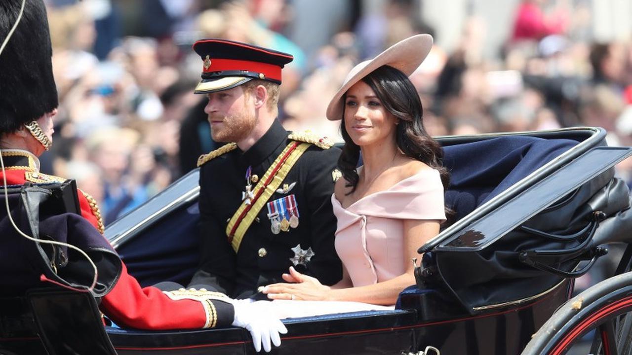 Perbedaan Debut Meghan Markle dan Catherine Middleton Dalam Trooping Colour