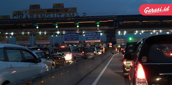 89.000 Kendaraan Lewati Cikarang Utama, Arus Mudik 'Dimulai'!