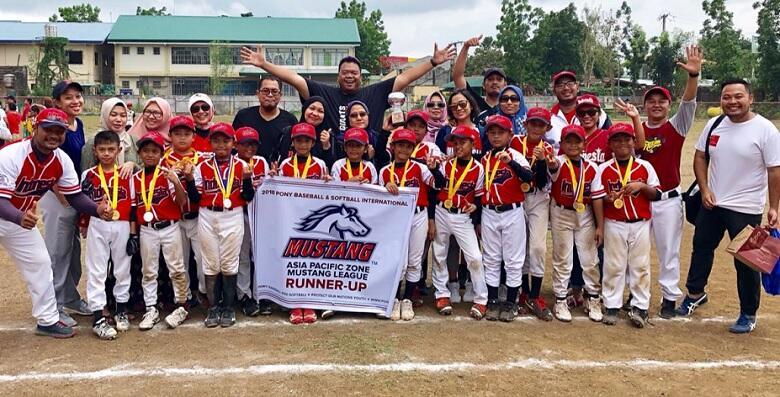 Tim Garuda Baseball Softball Club U-10 Raih Runner Up Kejuaraan Asia Pacific 2018
