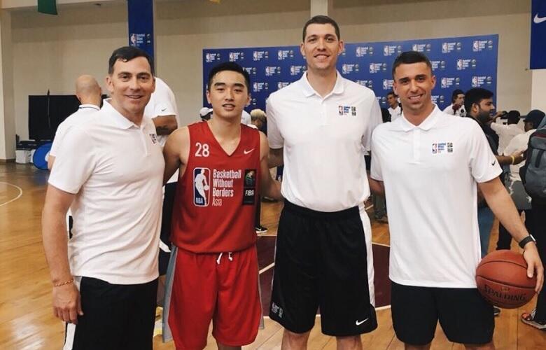 Pebasket Darryl Sebastian Wakili Indonesia di BWB Camp Asia 2018