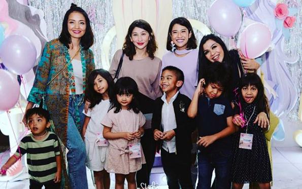 10 Potret Keseruan Ulang Tahun Putri Dian Sastro, Mewah & Meriah