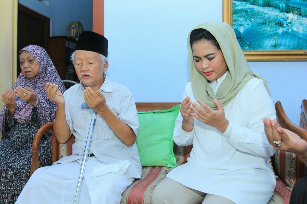 Sowan ke Jombang, Puti Minta Restu Sesepuh Muhammadiyah