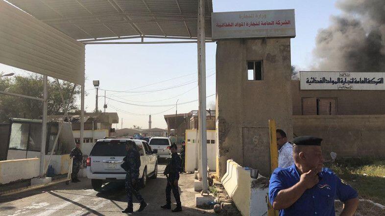 Belum Dihitung Ulang, Gudang Penyimpanan Kotak Suara Irak Terbakar