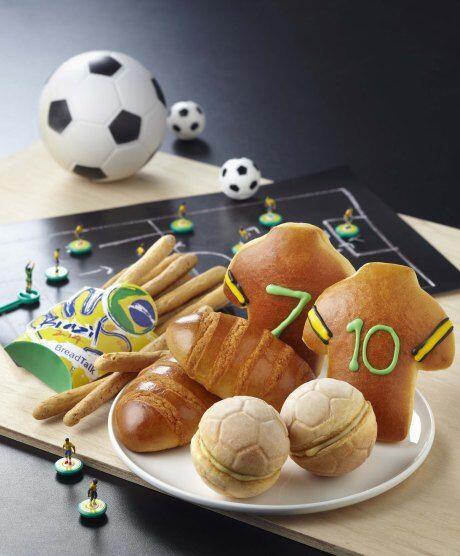 10 Potret Makanan Unik Bertema World Cup, Bikin Gemas Gak Tega Makan