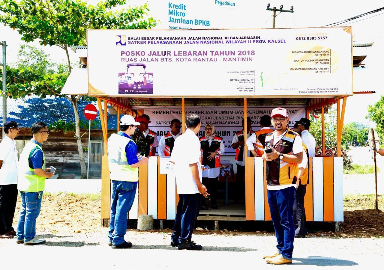 Mudik Makin Asyik dengan 588 Posko Sapta Taruna di Seluruh Indonesia