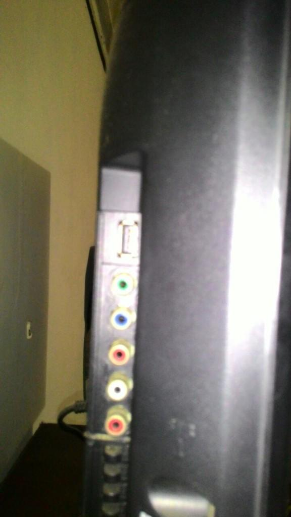 Tv panasonic dan dvd panasonic kenapa tidak bisa tampil di layar?