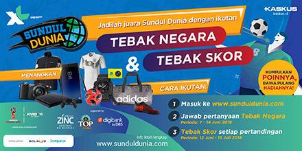 Menangkan Berbagi Hadiah dengan Jadi Juara SUNDUL DUNIA!