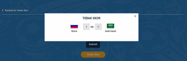 Cuma Tebak Skor Piala Dunia, Bisa Jadi Juara SUNDUL DUNIA!