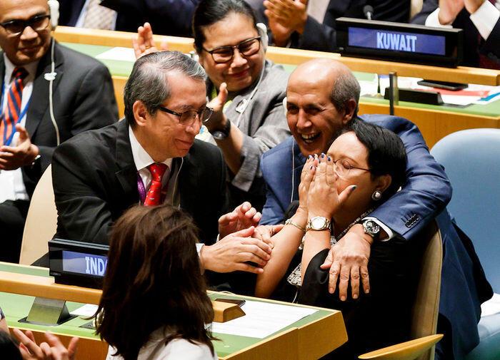 Menjadi anggota Dewan Keamanan, jangan lupa amanat konstitusi
