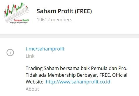 Group Telegram Saham Profit (FREE)