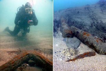 Penyelam Temukan Bangkai Kapal Inggris Berusia 334 Juta Tahun