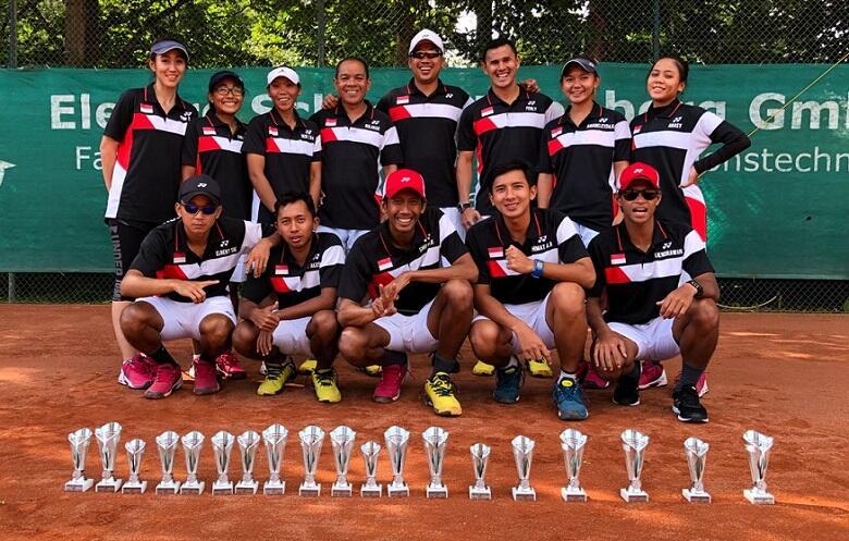 Borong Enam Emas Di Jerman, Pelatnas Soft Tenis Asian Games Ke Thailand