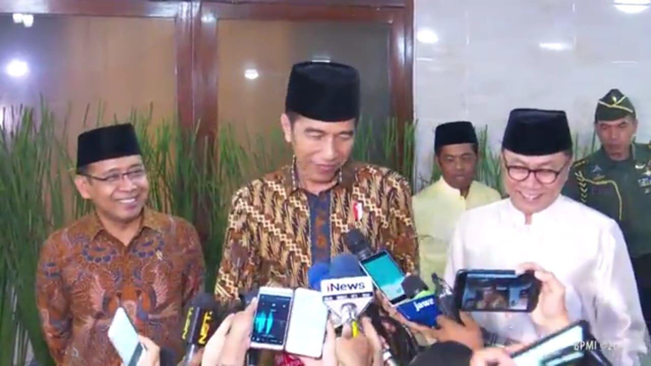 Tahun Ini Jokowi Rayakan Idulfitri di Bogor