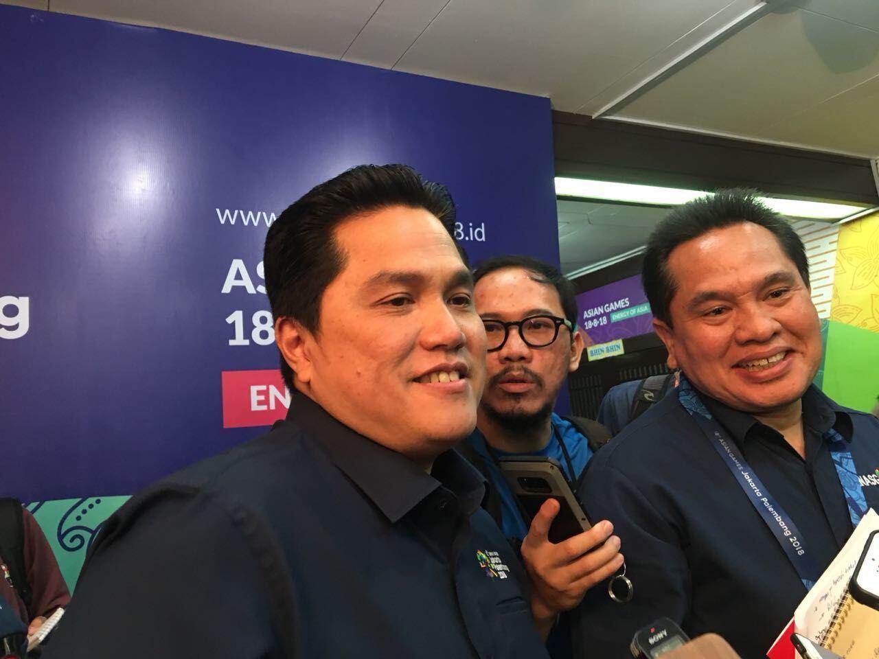 Erick Thohir: Ada 25 Ribu Tiket Asian Games Gratis untuk Pelajar