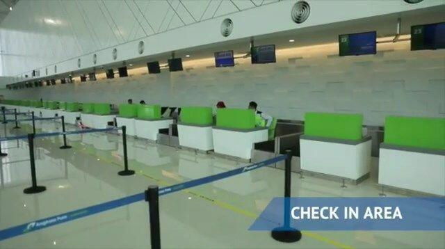 FOTO: Kerennya Bandara Ahmad Yani, Bandara Terapung Pertama Indonesia