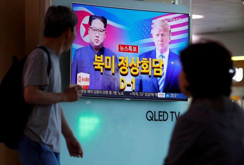 Trump Akhirnya Bertemu dengan Kim Jong-un