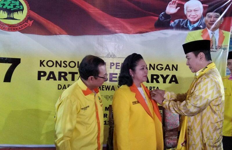 Golkar: Titiek Sosok Kader Perempuan Terbaik Partai