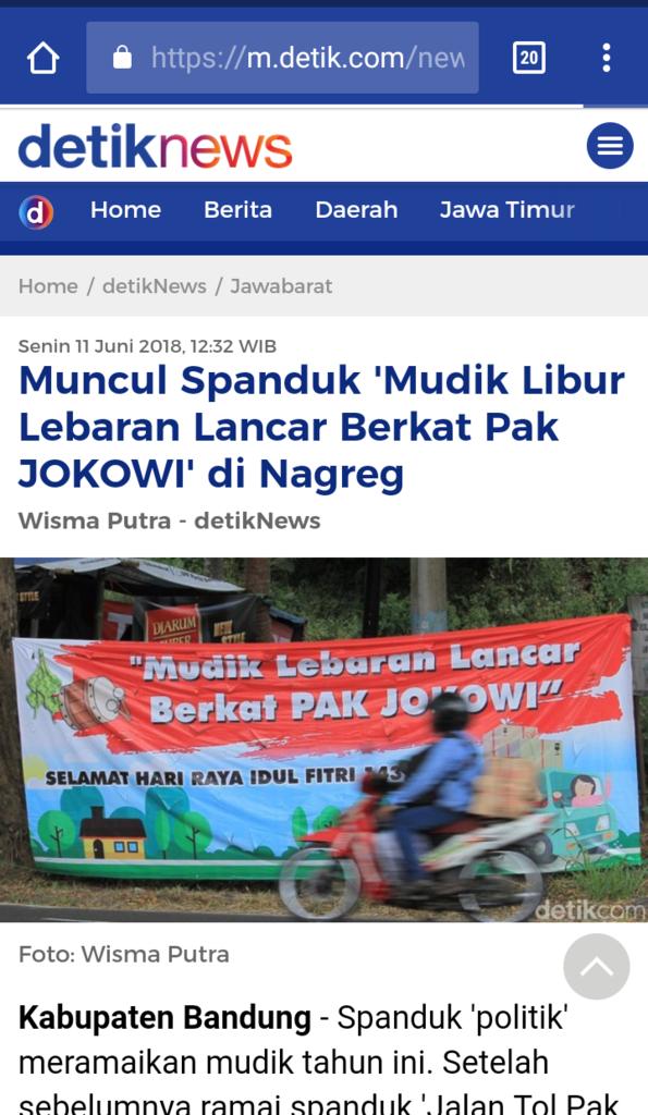 Ngabalin: Mudik Lancar, Jokowi Tepati Janji Harus 2 Periode