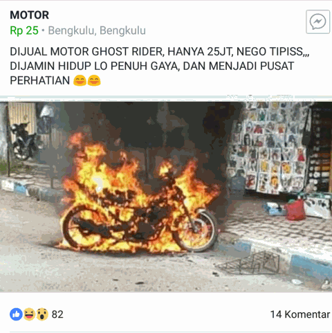 Dan Muncul Lagi, 13 Postingan Alay di Facebook ini Bikin Tepuk Jidat, Serba Gak Jelas