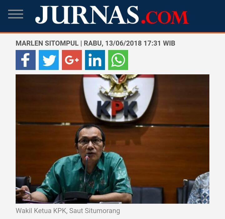KPK Telisik Dugaan Uang Suap untuk Kampanye Bupati Asal PDIP