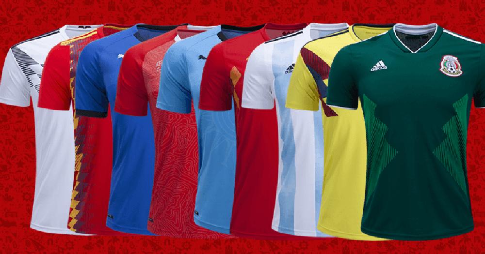 Fakta Sains di Balik Baju Jersey Pemain Sepak Bola Saat World Cup