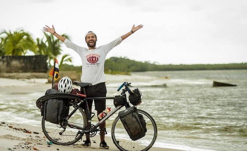 Kisah 4 Pria Bersepeda hingga 5.000 KM demi Piala Dunia 2018